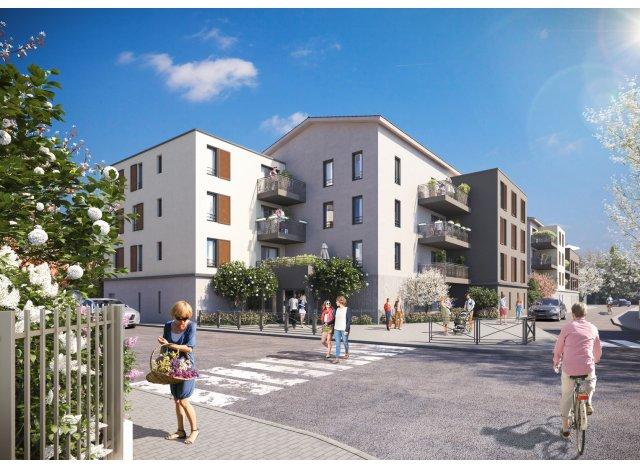 Programme immobilier loi Pinel Vo'Lupté Village à Vaulx-en-Velin