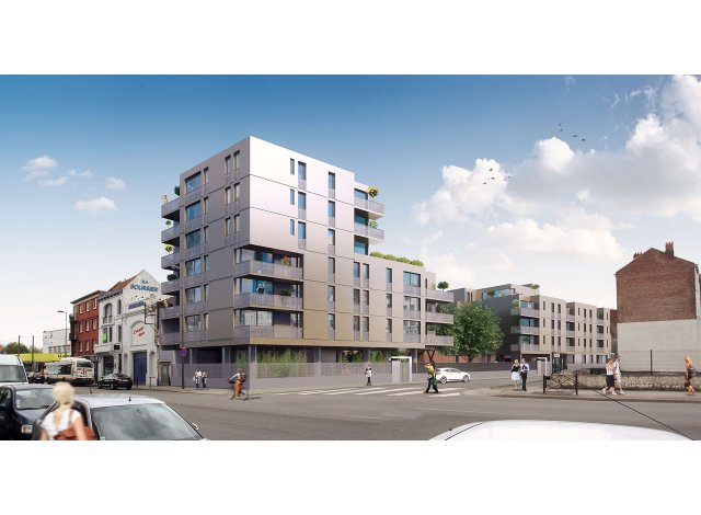 Appartement neuf Lill'Even éco-habitat à Lille