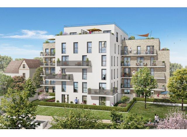 Programme immobilier neuf éco-habitat Harmonie à Argenteuil