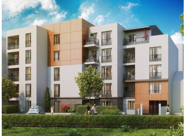 Appartement neuf Le Petit Kennedy éco-habitat à Viry-Châtillon
