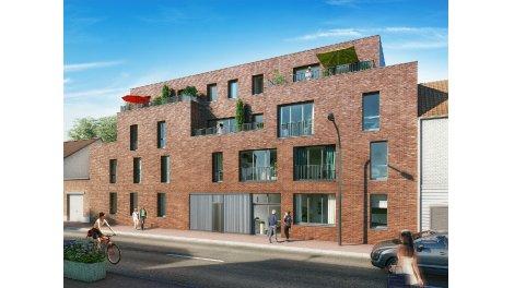 Appartements et maisons neuves Les Jardins bo'Tanic éco-habitat à Lomme
