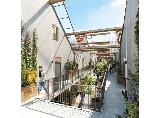 Programme immobilier loi Pinel L'Heritage Motte Cordonnier à Armentières