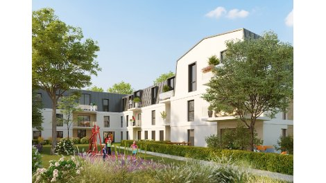 Programme immobilier loi Pinel Le Domaine du Parc à Bouffemont