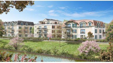 Appartement neuf Le Clos du Canal éco-habitat à Chelles