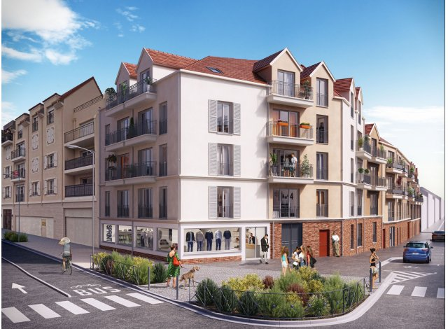 Programme immobilier loi Pinel Residence Isara à Creil