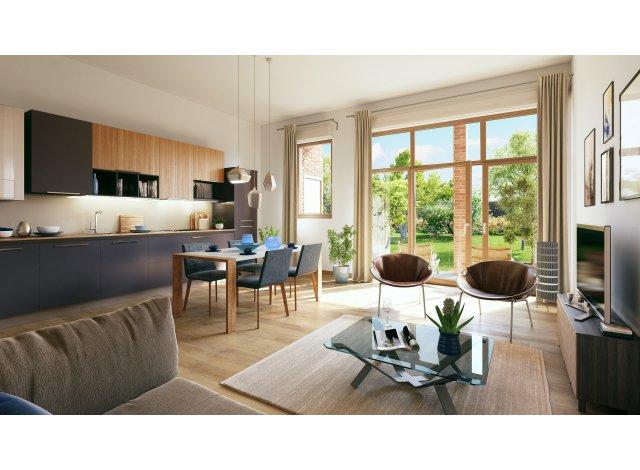 Programme immobilier loi Pinel Parenthese Verte à Lille