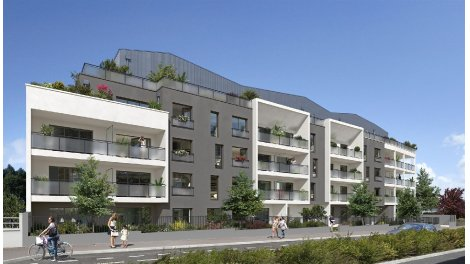 Appartement neuf Nereides investissement loi Pinel à Saint-Nazaire