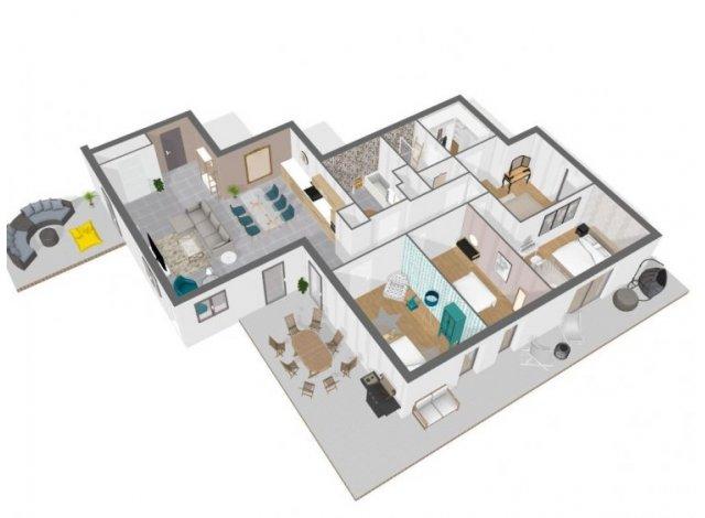 Programme immobilier loi Pinel Select à Charbonnières-les-Bains