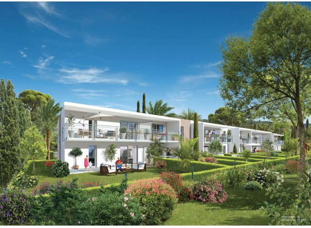Appartement neuf Cap Marin éco-habitat à Cavalaire-sur-Mer