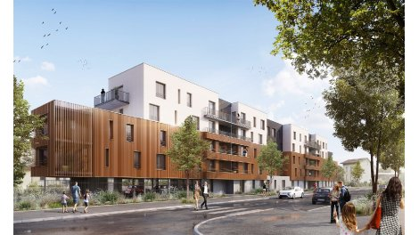 Programme immobilier loi Pinel Ed'n Green à Nancy