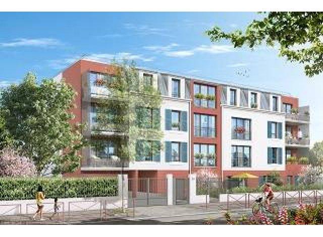 Appartement neuf La Residence des Vignes éco-habitat à Montfermeil