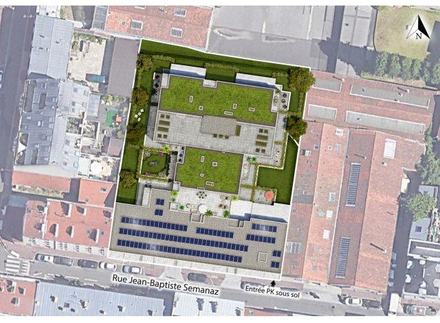 Programme immobilier loi Pinel Green Eko à Le Pré-Saint-Gervais