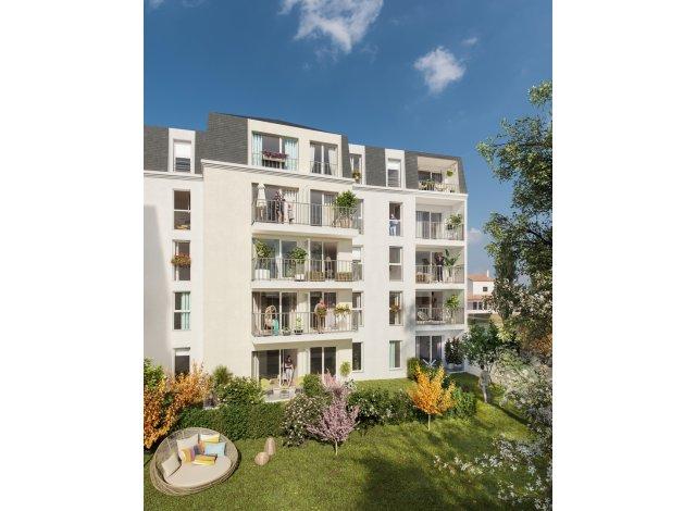 Programme immobilier loi Pinel Les Jardins d'Aunais à Aulnay-sous-Bois