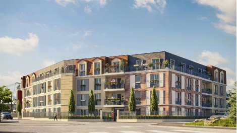 Écohabitat immobilier neuf éco-habitat Bouffemont Les Jardins du Plessis