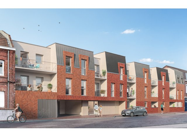 Programme immobilier loi Pinel Incandescence à Haubourdin