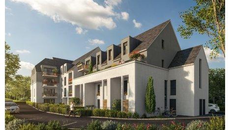 Appartement neuf Marina Bay éco-habitat à Dinard