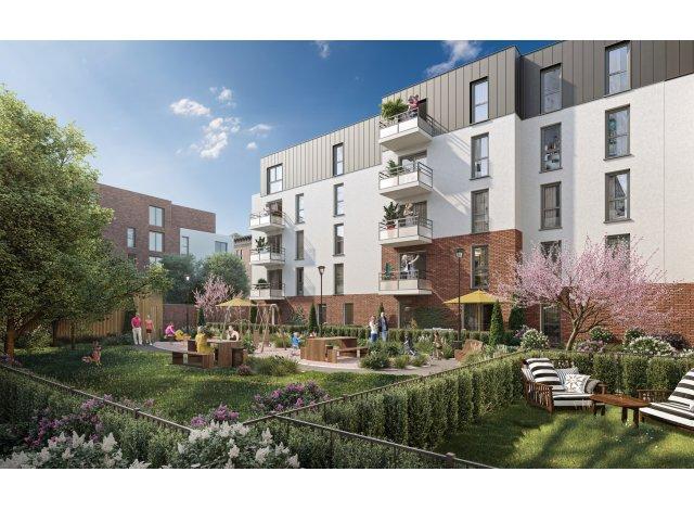 Programme immobilier loi Pinel L'Interlude à Lille