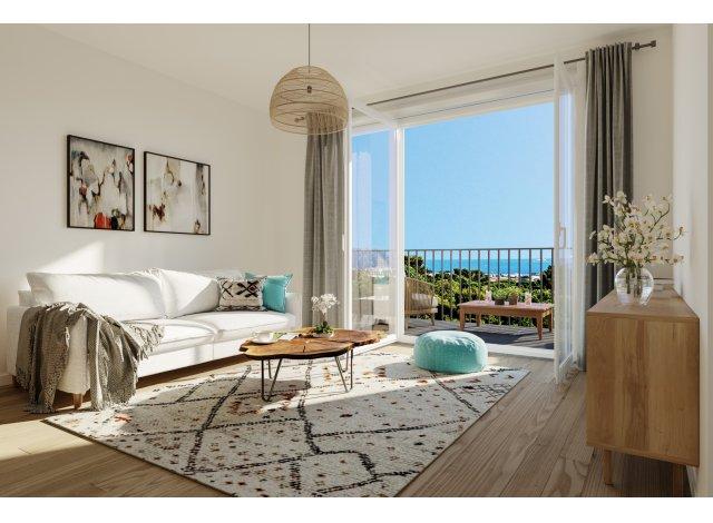 Appartement neuf Colline d'Azur éco-habitat à Marseille 14ème