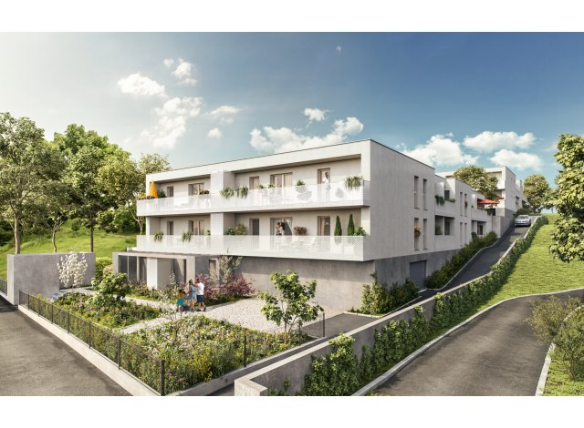 Pinel programme Terrasses de Grezes Montpellier