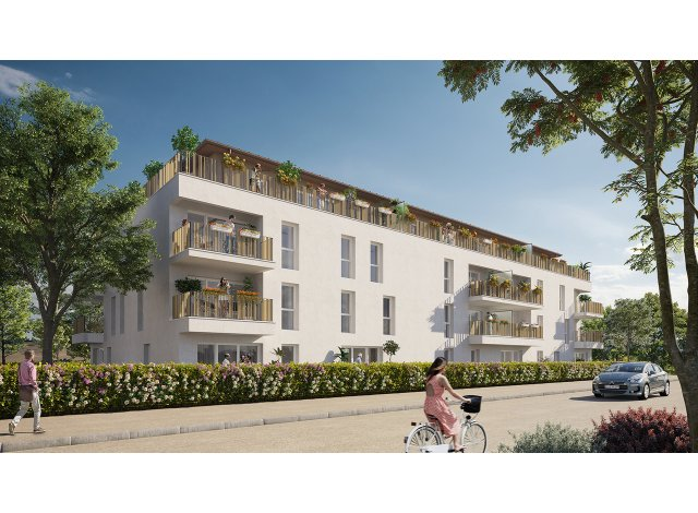 Appartements et maisons neuves éco-habitat Le Clos des Chênes Blancs à Carbon-Blanc