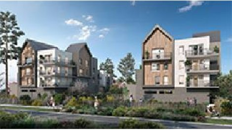 Appartement neuf L'Impressionniste éco-habitat à Bois-Guillaume-Bihorel