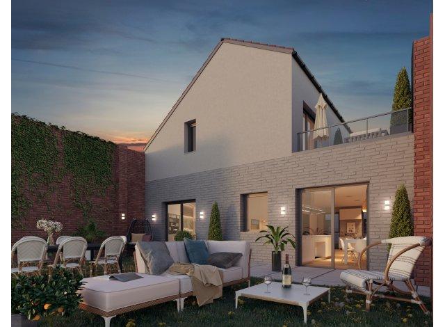 Programme immobilier loi Pinel Les Villas de la Visserie à Lille