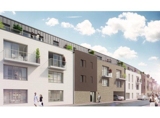 Programme immobilier neuf éco-habitat Coeurville à Amiens