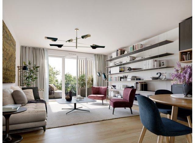 Appartement neuf Domaine du Parc éco-habitat à Bouffemont