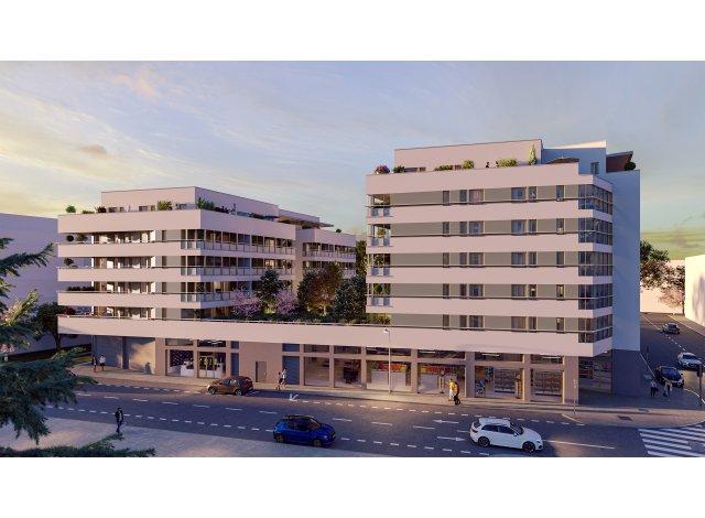 Programme immobilier loi Pinel Les Jardins de Mâa à Lyon 3ème