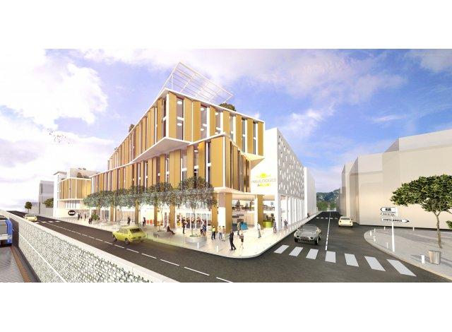 Programme immobilier neuf éco-habitat Toulon Montety à Toulon