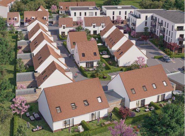 Éco habitat éco-habitat Residence Costes et Bellonte à Douai