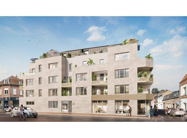 Programme immobilier loi Pinel Elegance à Marcq-en-Baroeul