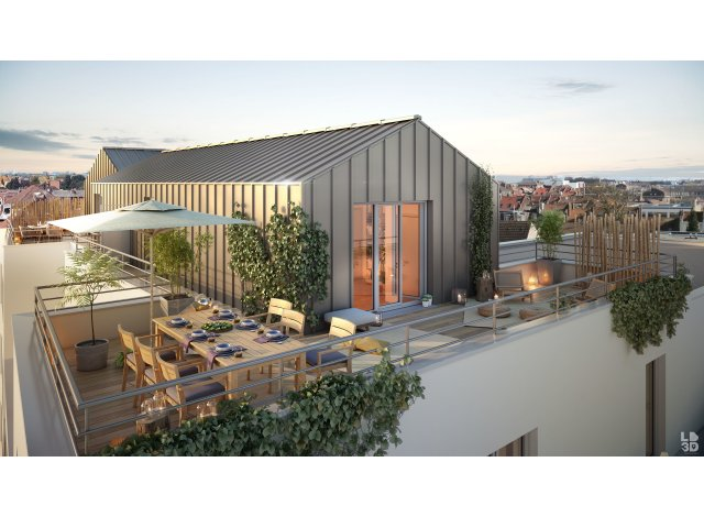 Appartement écologique Marcq-en-Baroeul