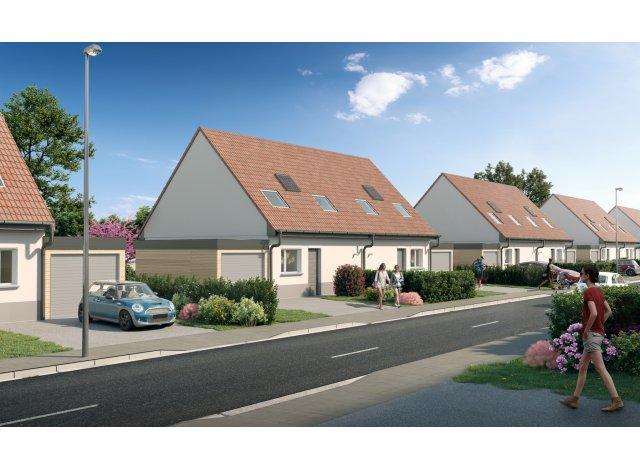 Programme immobilier loi Pinel Le Village Saint Eloi à Ribecourt-Dreslincourt