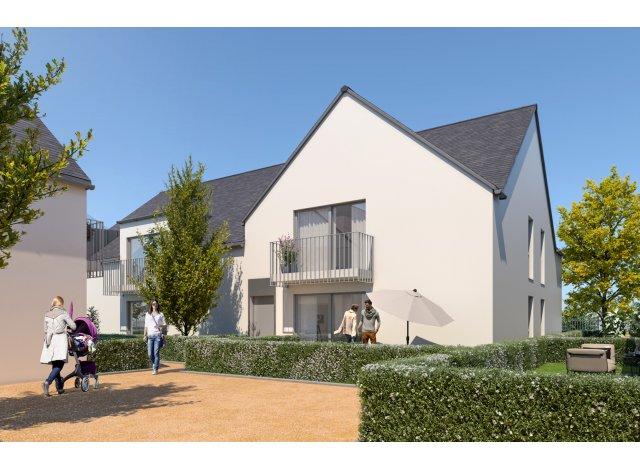 Programme immobilier loi Pinel Le Hameau des Lys à Amboise