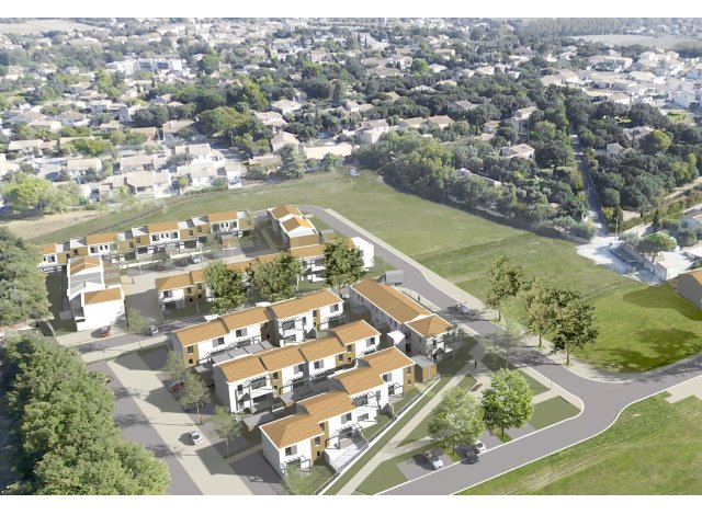 Programme immobilier loi Pinel Collection Village à Bedarrides
