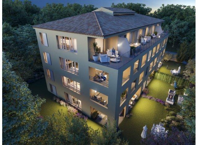 Programme immobilier neuf éco-habitat Montemaggi à Aix-en-Provence