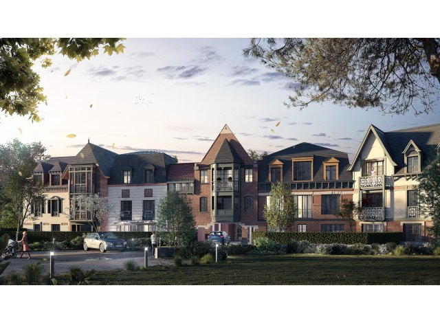 Programme immobilier neuf éco-habitat Villa Agrippa à Amiens