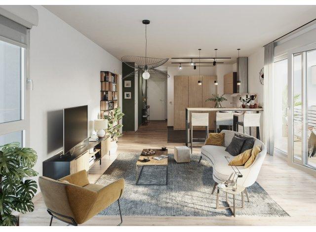 Programme immobilier neuf éco-habitat Plenitude à Metz