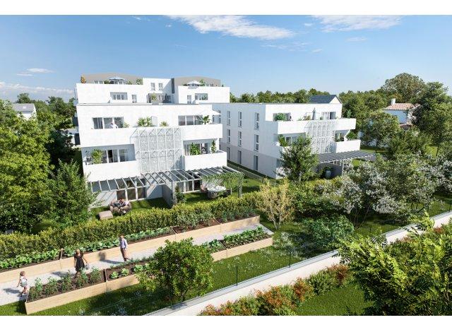 Programme immobilier neuf éco-habitat Gallery 25 à Cenon