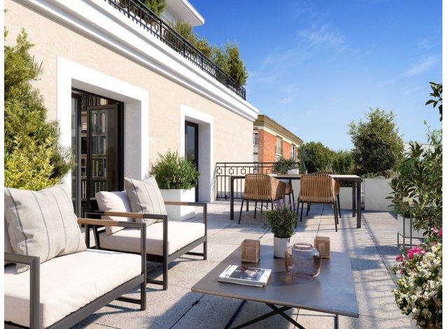 Programme immobilier neuf éco-habitat Vill'Alma à Saint-Maur-des-Fossés