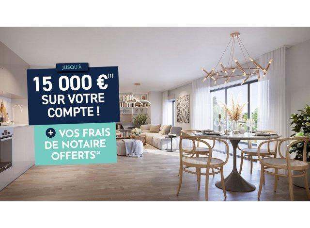 Programme immobilier neuf éco-habitat Villa Iodéa à Notre-Dame-de-Monts