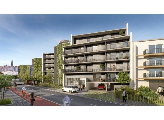 Programme immobilier loi Pinel Les Senioriales à Clermont-Ferrand