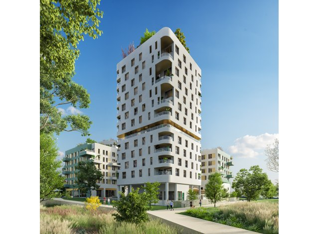 Programme immobilier neuf éco-habitat Rue Vladimir Kramnik à Asnières-sur-Seine