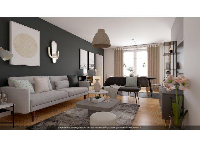 Programme immobilier loi Pinel Evian à Evian-les-Bains