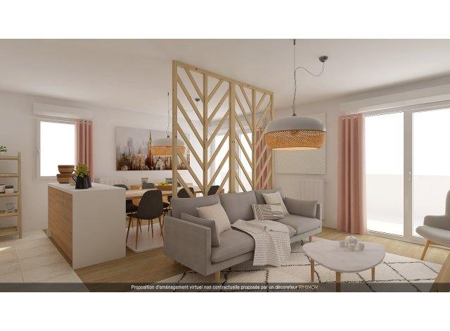 Programme immobilier loi Pinel Marseille 8ème à Marseille 8ème
