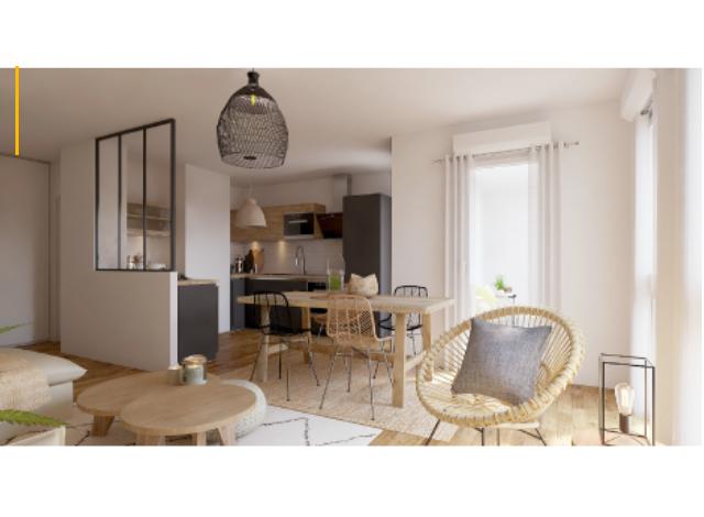 Programme immobilier loi Pinel Mairie de Saint Ouen à Saint-Ouen-sur-Seine