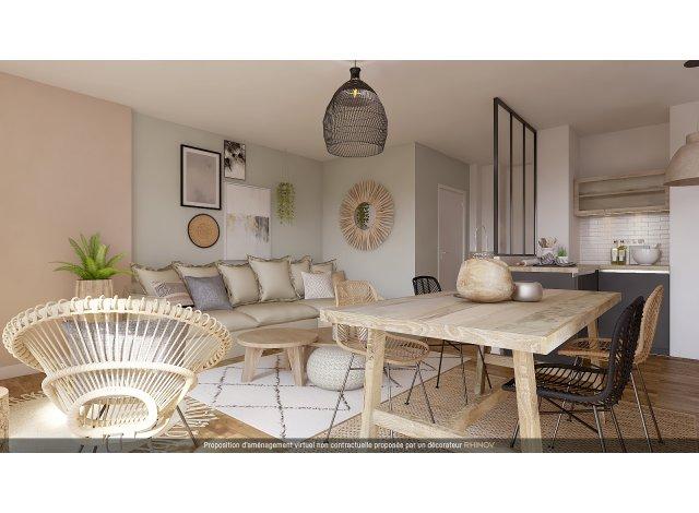 Programme immobilier loi Pinel Villeurbanne Place Wilson à Villeurbanne