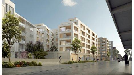 Appartement neuf éco-habitat Le Hub à Annemasse