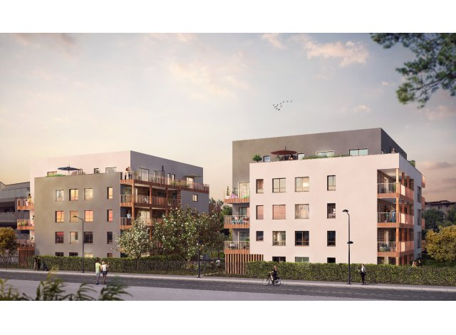 Programme immobilier loi Pinel Residence Magnolia à Annemasse